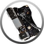 MacBook I/O Board Repair